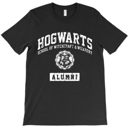 Hogwarts Alumni T-shirt Designed By Syakirra