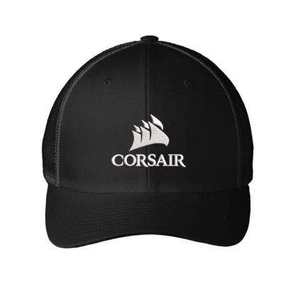 Corsair Custom Embroidered Hat Embroidered Mesh Cap