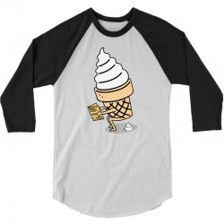 Ice Cream 3/4 Sleeve Shirt | Artistshot