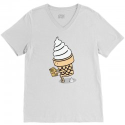 Ice Cream V-Neck Tee | Artistshot