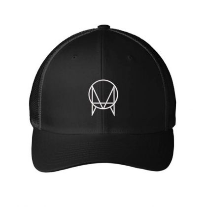Owsla Skrillex Dubstep Trap Music Embroidered Hat Embroidered Mesh Cap Designed By Madhatter