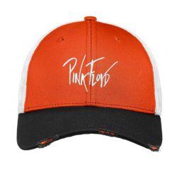 Pink Floyd  Embroidered Hat Vintage Mesh Cap | Artistshot