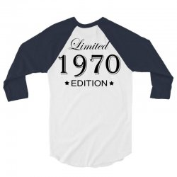 limited edition 1970 3/4 Sleeve Shirt | Artistshot