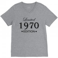 limited edition 1970 V-Neck Tee | Artistshot