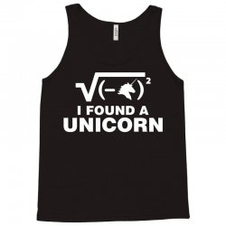 I Found a Unicorn Tank Top | Artistshot
