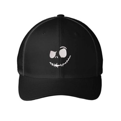 Skel Embroidered Hat Embroidered Mesh Cap Designed By Madhatter
