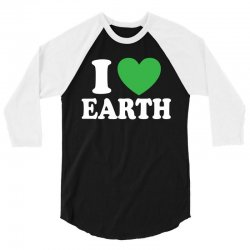I Love You (Heart) 3/4 Sleeve Shirt | Artistshot