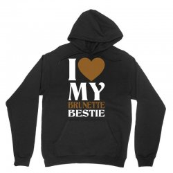 I Love My Blonde Bestie - I Love My Brunette Best Unisex Hoodie | Artistshot