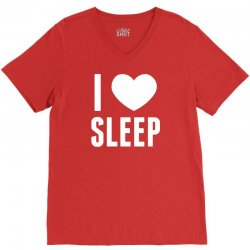 I Heart Sleep V-Neck Tee | Artistshot