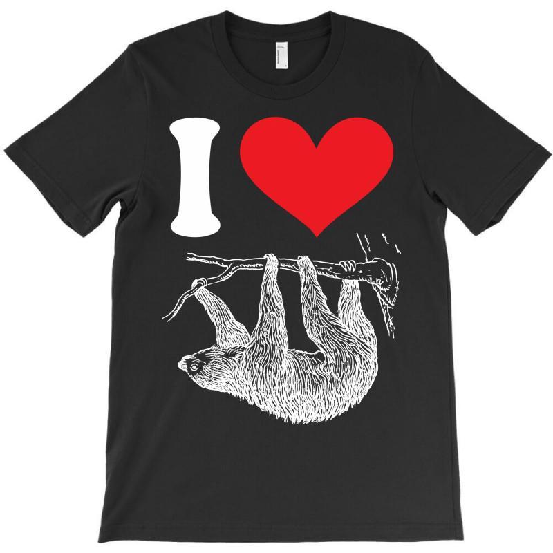 I Heart Sloth T-shirt | Artistshot