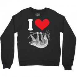 I HEART SLOTH Crewneck Sweatshirt | Artistshot