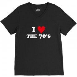 I Love 70's V-Neck Tee | Artistshot