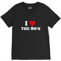 I Love 80's V-Neck Tee | Artistshot