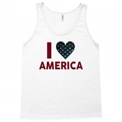 I Love America Tank Top   Artistshot