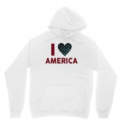 I Love America Unisex Hoodie   Artistshot