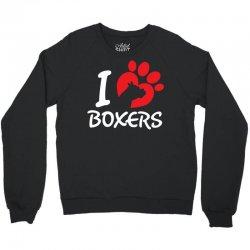 I Love Boxers Crewneck Sweatshirt | Artistshot