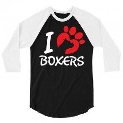 I Love Boxers 3/4 Sleeve Shirt | Artistshot