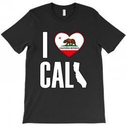 I Love You California T-Shirt | Artistshot