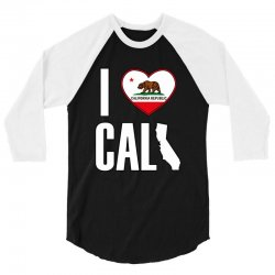 I Love You California 3/4 Sleeve Shirt | Artistshot