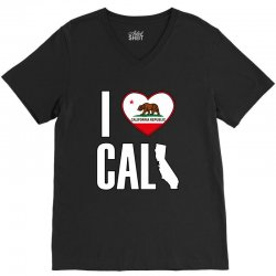 I Love You California V-Neck Tee | Artistshot