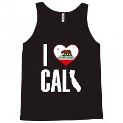 I Love You California Tank Top | Artistshot