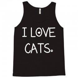 I Love Cats Tank Top | Artistshot
