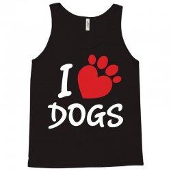 I Love Dogs Tank Top   Artistshot