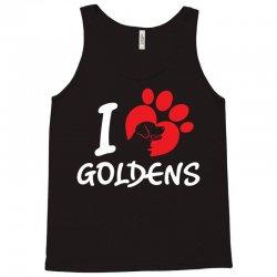 I Love Goldens Tank Top | Artistshot