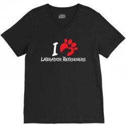 I Love Labrador Retrievers V-Neck Tee | Artistshot