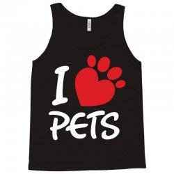 I Love Pets Tank Top   Artistshot