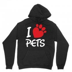 I Love Pets Unisex Hoodie   Artistshot