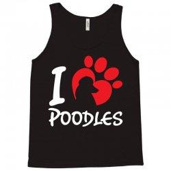 I Love Poodles Tank Top | Artistshot