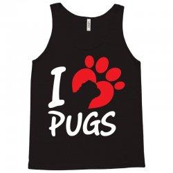 I Love Pugs Tank Top | Artistshot