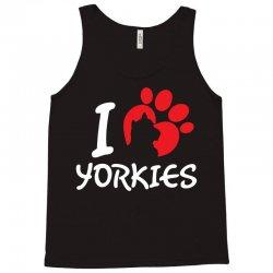 I Love Yorkies Tank Top | Artistshot