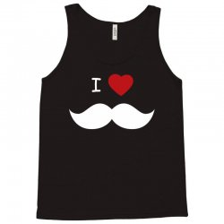 I Love Mustache Tank Top | Artistshot