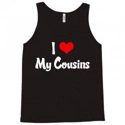 I Heart My Cousins Tank Top | Artistshot