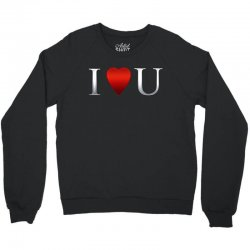 I love u heart Crewneck Sweatshirt | Artistshot