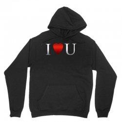 I love u heart Unisex Hoodie | Artistshot