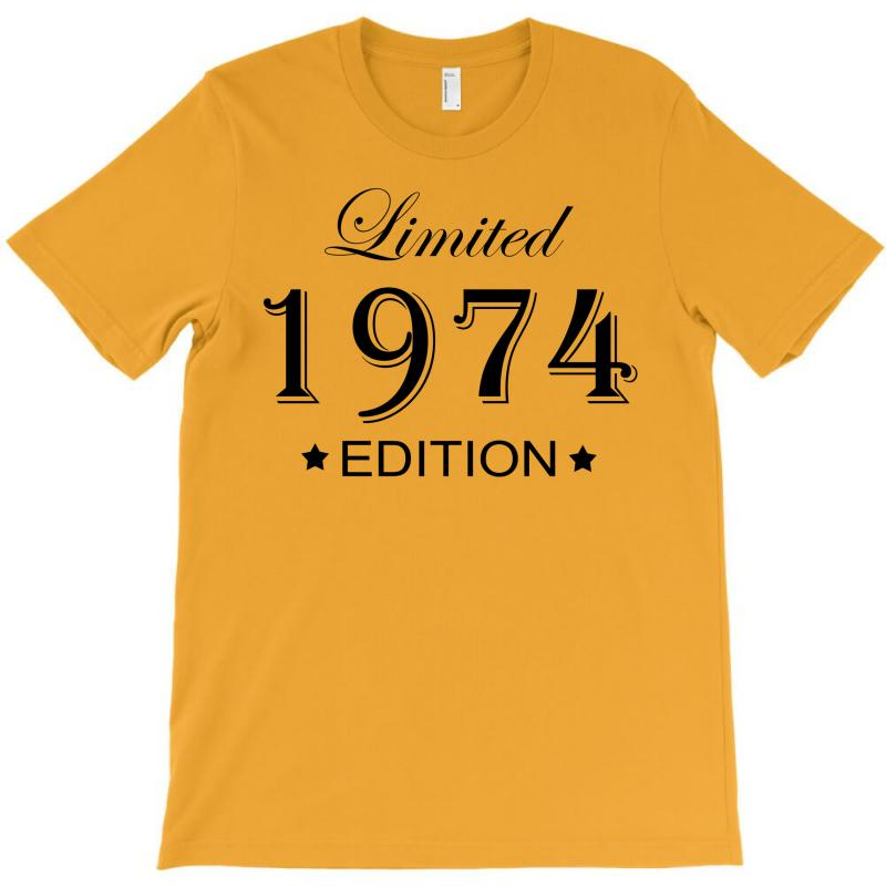 Limited Edition 1974 T-shirt | Artistshot