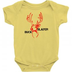 buck slayer Baby Bodysuit | Artistshot