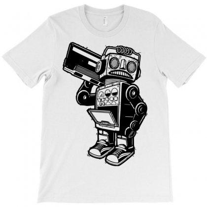 Dance Robot Music Old T-shirt