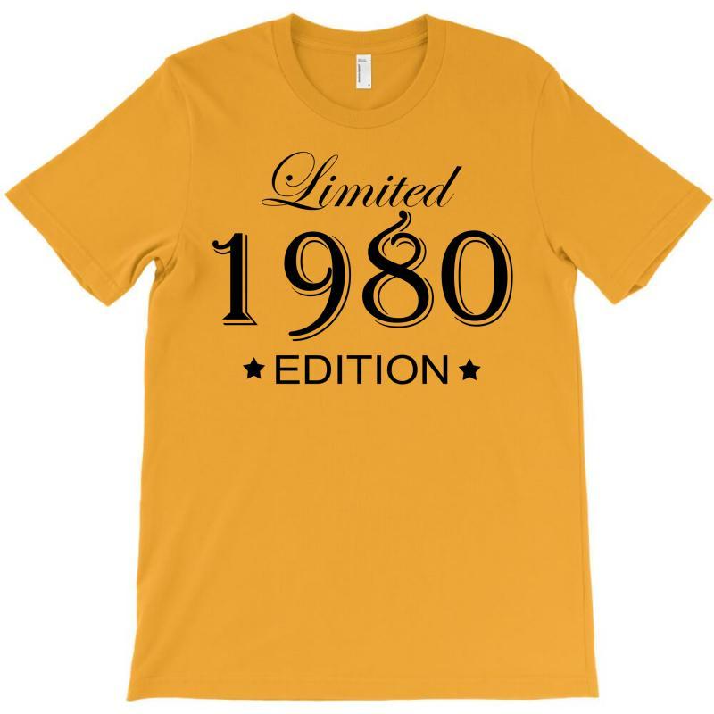 Limited Edition 1980 T-shirt | Artistshot