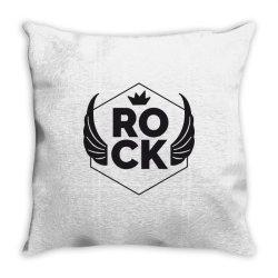 Rock Throw Pillow   Artistshot