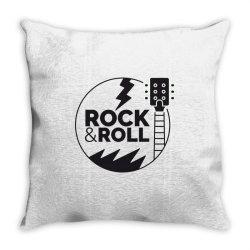 Rock & Roll Throw Pillow   Artistshot