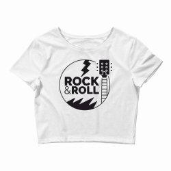 Rock & Roll Crop Top | Artistshot