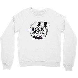 Rock & Roll Crewneck Sweatshirt | Artistshot