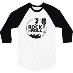 Rock & Roll 3/4 Sleeve Shirt | Artistshot