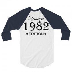 limited edition 1982 3/4 Sleeve Shirt | Artistshot