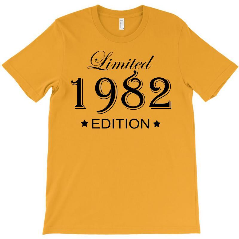 Limited Edition 1982 T-shirt | Artistshot