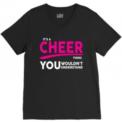 It's A Cheer Thing V-Neck Tee | Artistshot